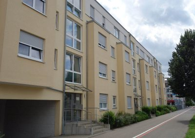 Straßenseite, Neubau Mehrfamilienhäuser in Kornwestheim P 6