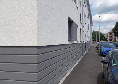 Straßenansicht, Neubau Mehrfamilienhäuser in Kornwestheim