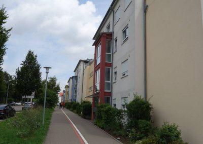Straßenseite, Balkone, Neubau Mehrfamilienhäuser in Kornwestheim