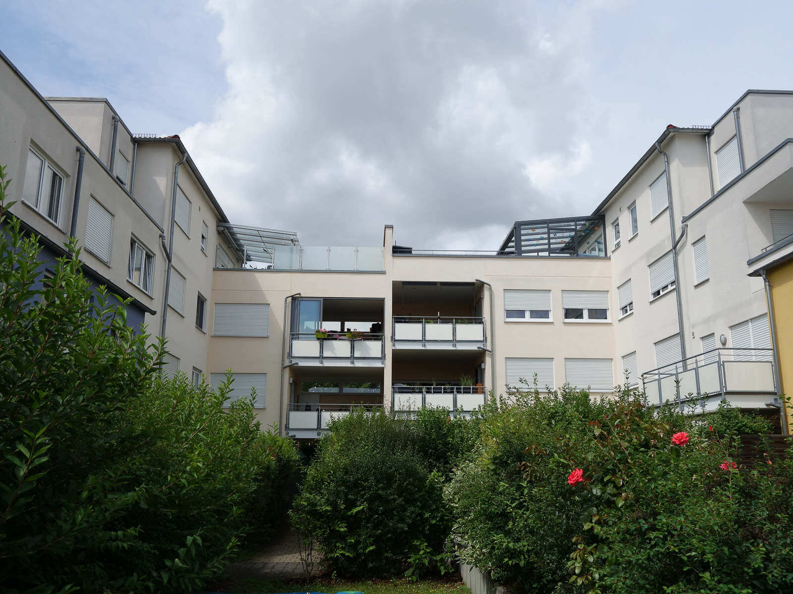 Balkone, Neubau Mehrfamilienhäuser in Kornwestheim
