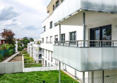 Balkone, Neubau Mehrfamilienhäuser in Leonberg