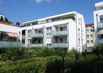 Balkonseite für Neubau Mehrfamilienhaus in Ludwigsburg