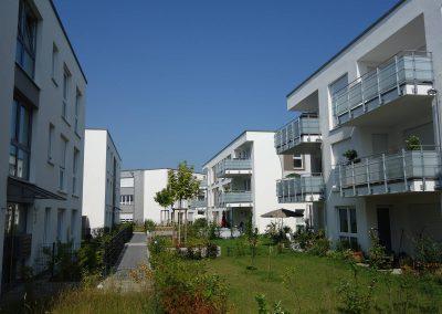 Mehrfamilienhäuser in Sachsenheim, Balkone